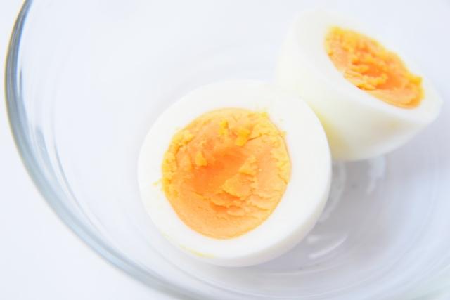 猫 ゆで卵